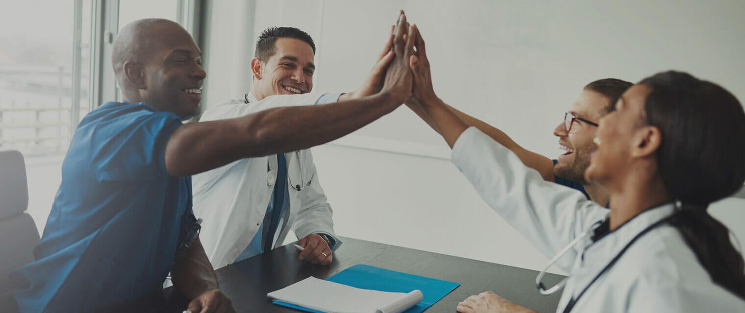 Ärzte und Pflegekräfte wertschätzen