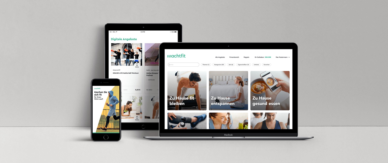 Ihr Zugang zu digitaler Gesundheitsförderung